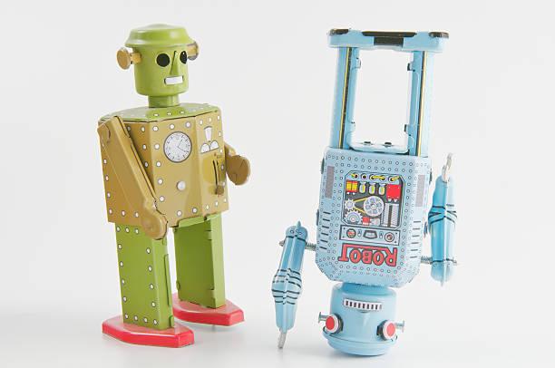 Robot Danza - foto stock