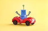 Robot Driving Car