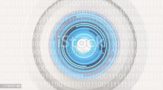 istock robot eye artificial intelligence binary data visualization machine learning or data scan 3d-illustration 1175737183