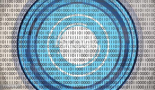 istock robot eye artificial intelligence binary data visualization machine learning or data scan 3d-illustration 1175737377