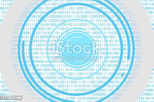 istock robot eye artificial intelligence data visualization machine learning or data scan 3d-illustration 1175737189
