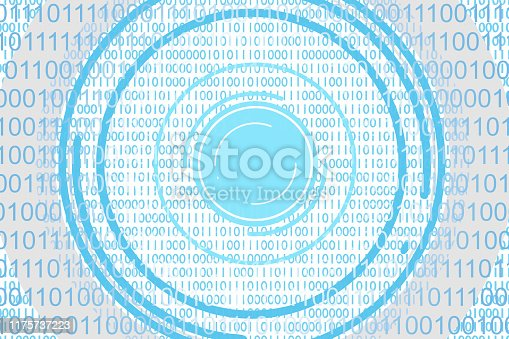 istock robot eye artificial intelligence data visualization machine learning or data scan 3d-illustration 1175737223