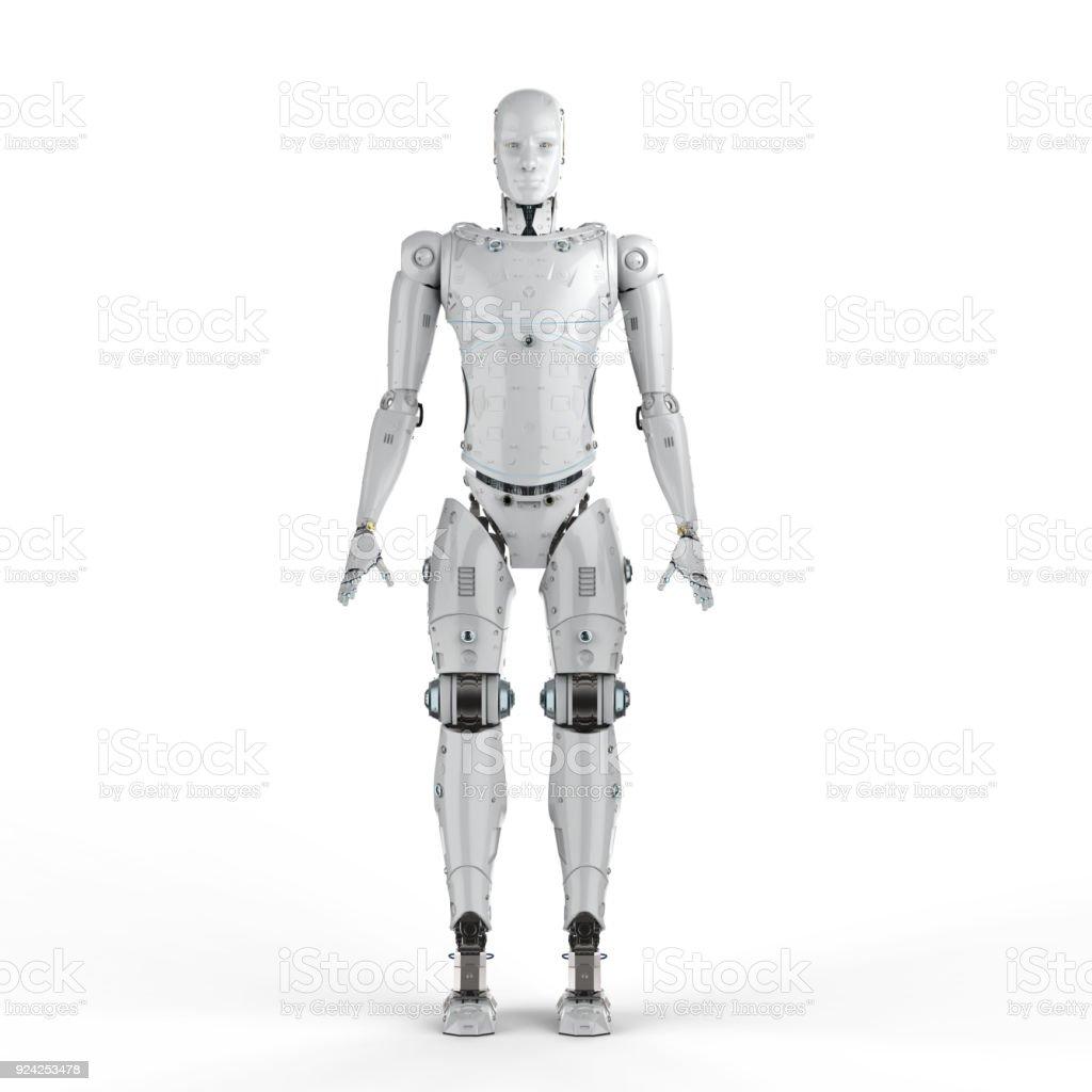 robot full body stock photo