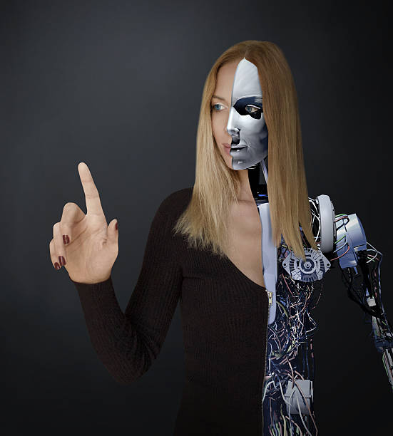 Half Human Half Robot Stock Photos, Pictures & Royalty ...