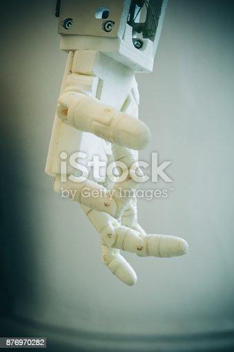 istock Robot hand fingers 876970282