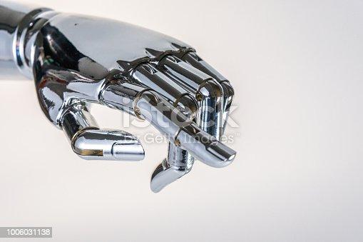istock robot hand 1006031138