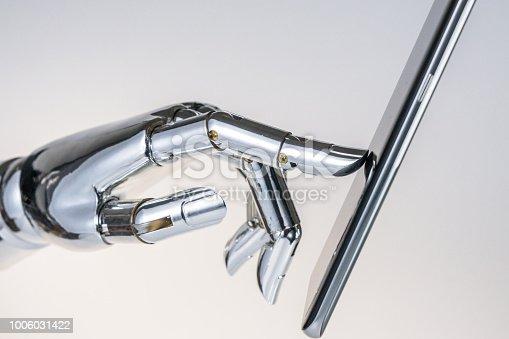 istock robot hand 1006031422