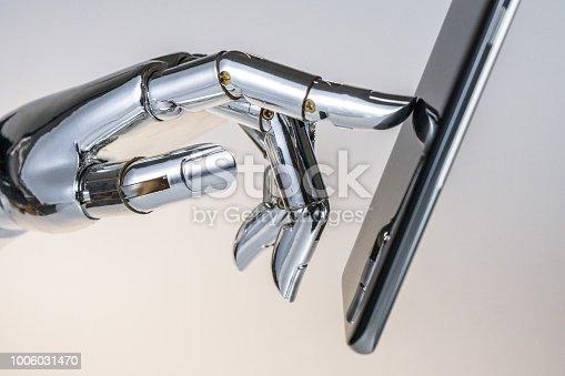 istock robot hand 1006031470