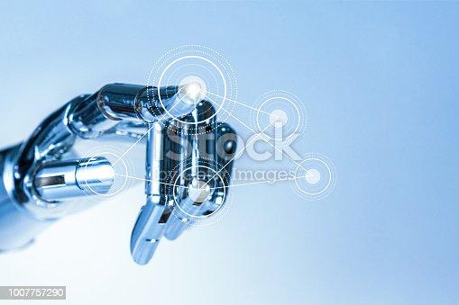 istock robot hand 1007757290