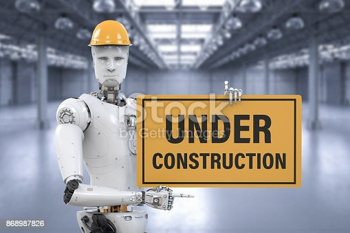 istock robot holding under construction sign 868987826