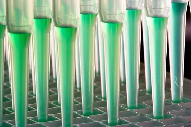Roboter microfluidics Erlaubnis – Foto