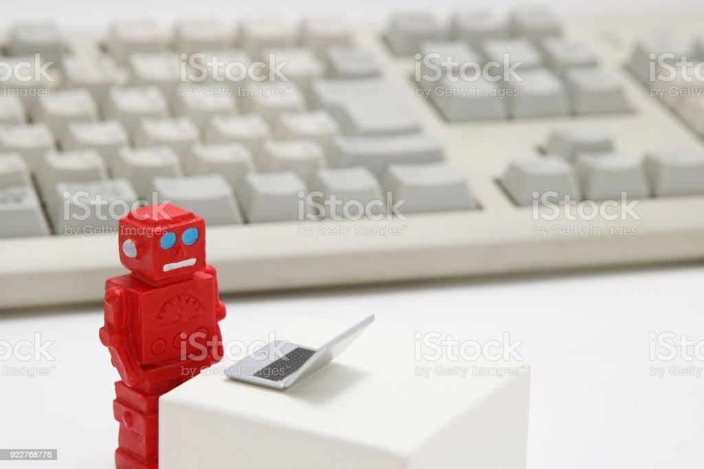 De Robot Stock Ou Photo Artificielle Lintelligence Et Ordinateur O0wPnk