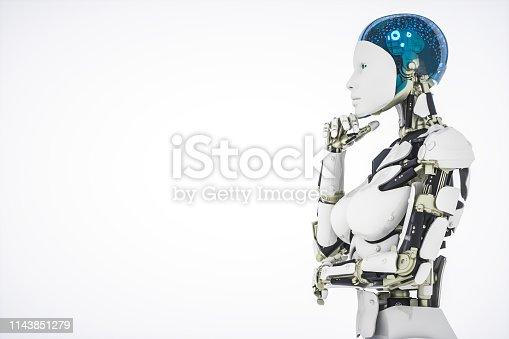 istock AI Robot 1143851279