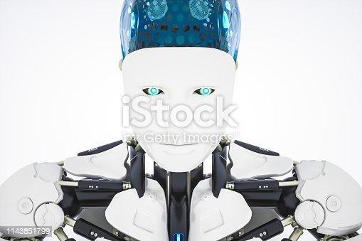 istock AI Robot 1143851799