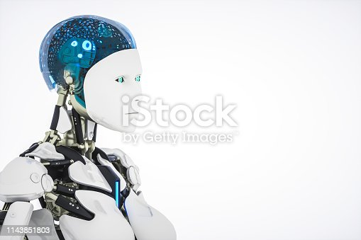 istock AI Robot 1143851803