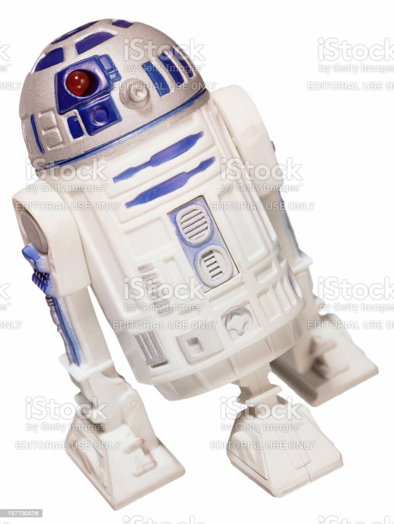R2-D2 robot royalty-free stock photo