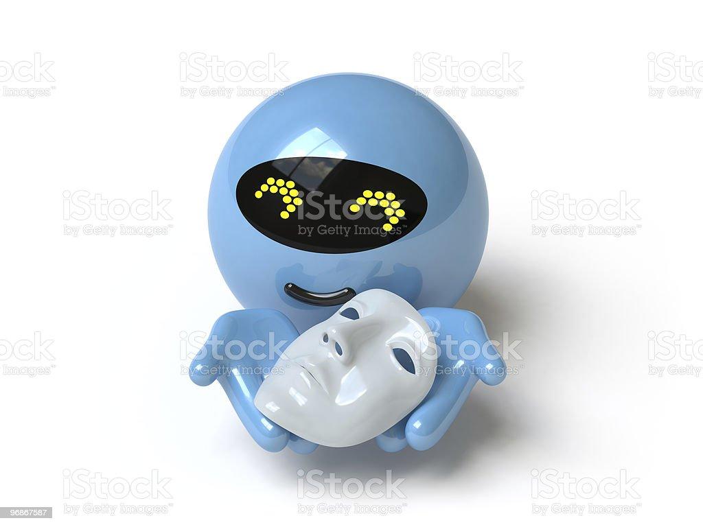 Roboter Lizenzfreies stock-foto