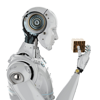 istock robot playing cube 952625714