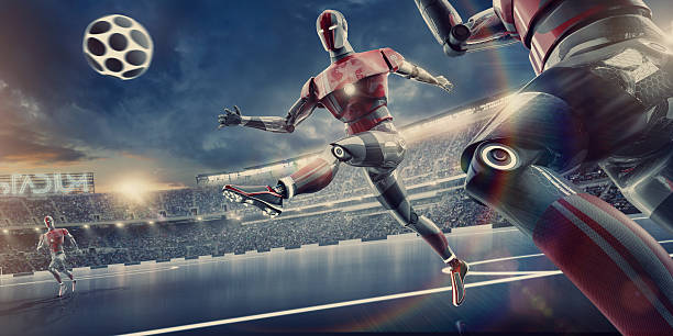 Best Robot Football Stock Photos, Pictures & Royalty-Free Images