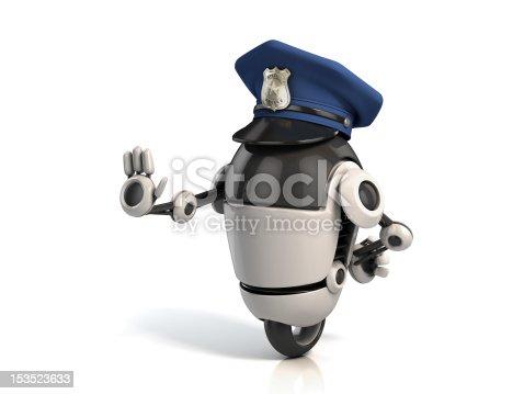 istock robot policeman 153523633