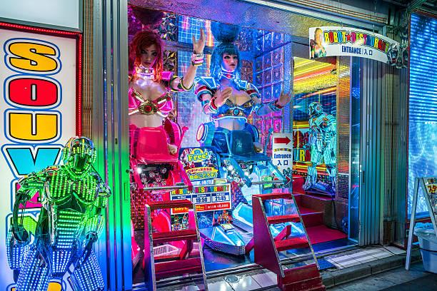 Roboter Restaurant in Tokio, Japan – Foto