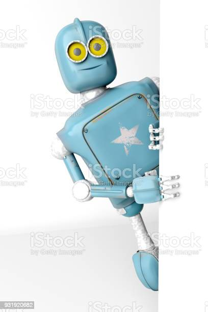 Robot retro vitage peeks out from behind the walls banner 3d render picture id931920682?b=1&k=6&m=931920682&s=612x612&h=ymudr0 bali6b4hytl4l5b1nryrpephj4dyp1tjkgh0=