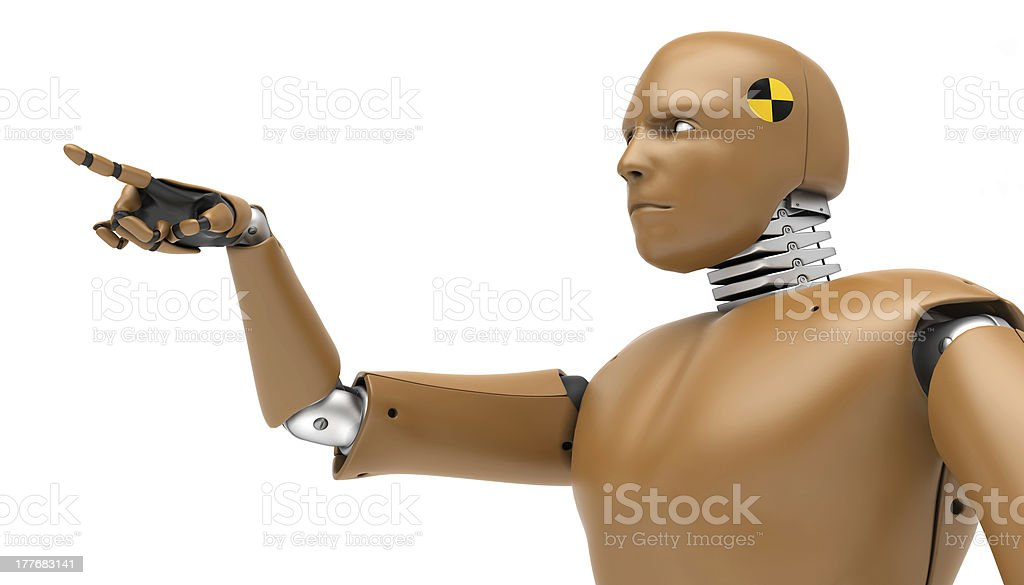robot test, BioRid stock photo