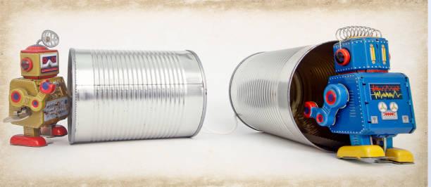 roboter-blechdose - converse taylor stock-fotos und bilder