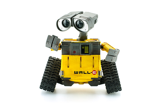 Walle Robot Toy Character Form Walle Animation Film Stock Photo - Download Image Now