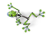 Robot treefrog