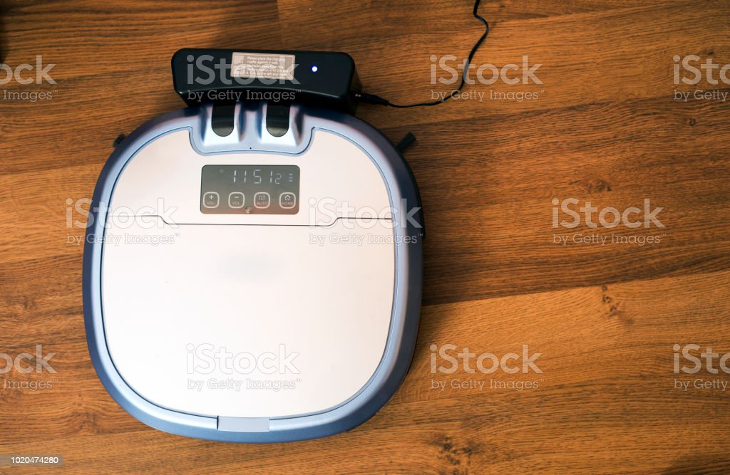 Robot Vacuum Cleaner Stock Photo & More Pictures of Autonomous