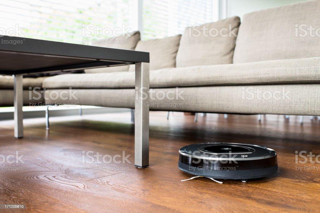 Robot Vacuum Cleaner stock photo