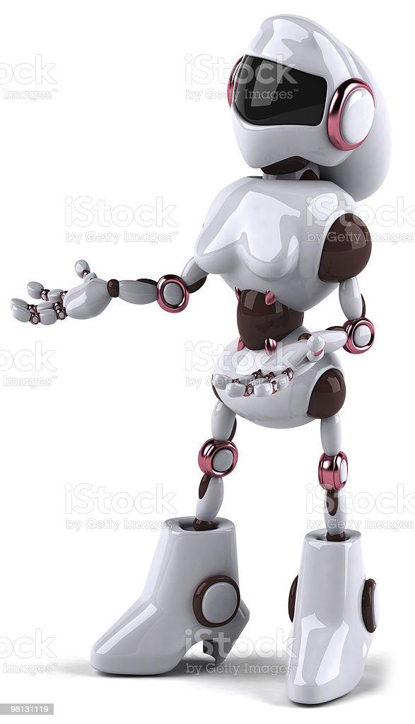 로봇 여자 royalty-free 스톡 사진