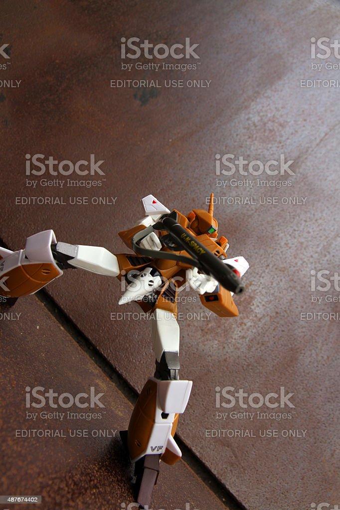 Robotech Defender stock photo