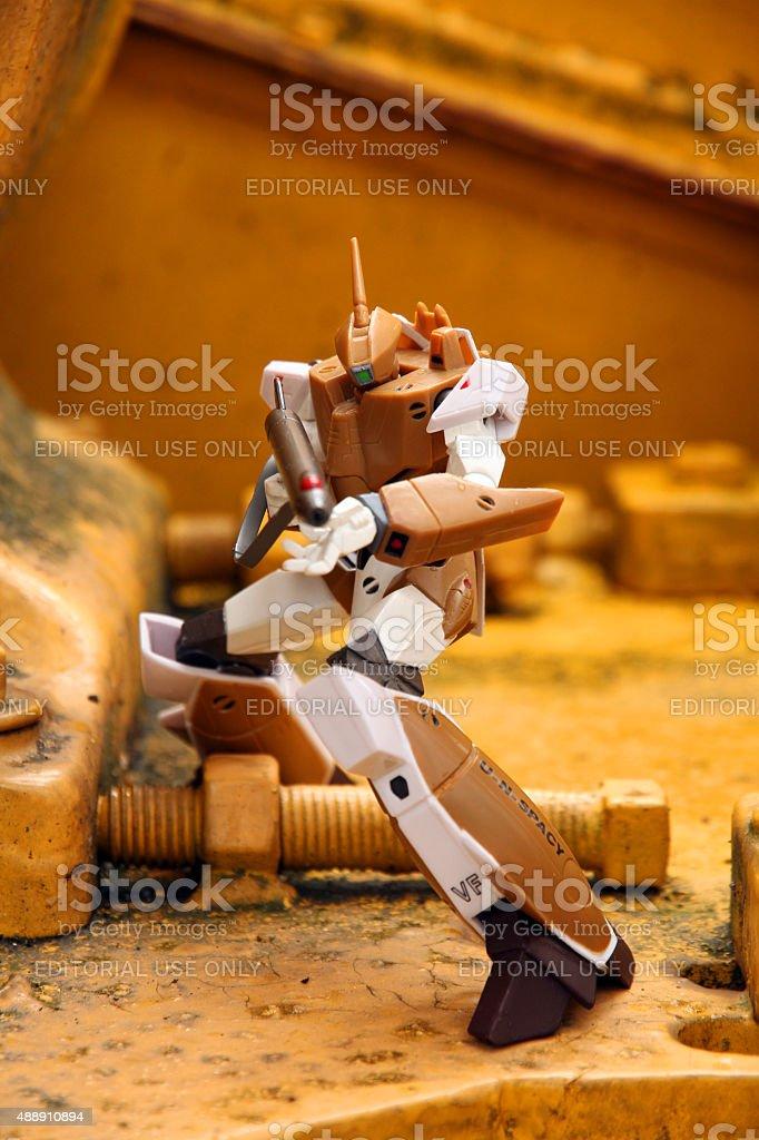 Robotech Defense Force stock photo
