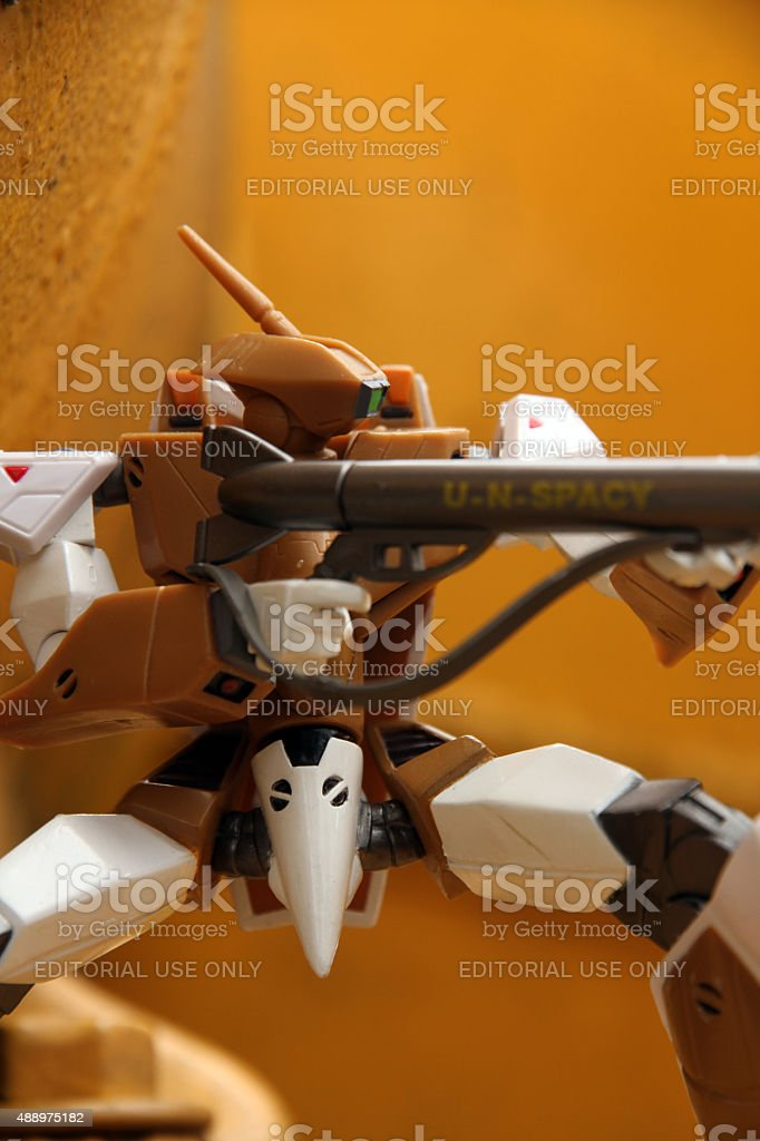 Robotech in Action stock photo