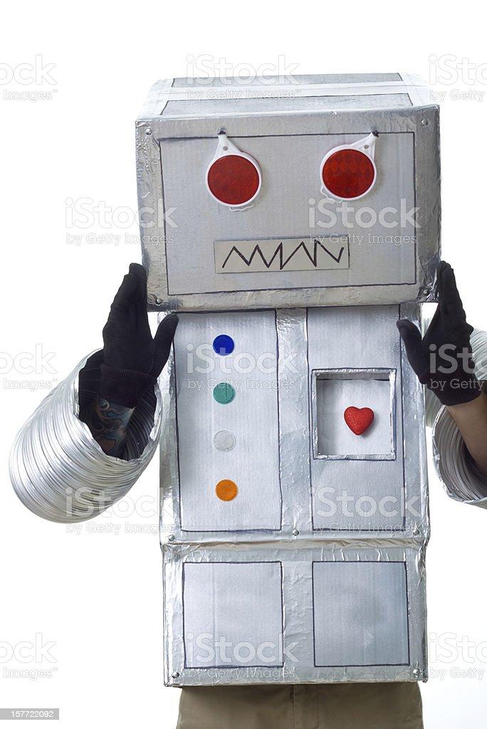 robotic adjustment stock photo
