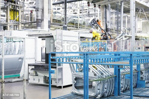 118429320 istock photo robotic arm and spare parts 474146759