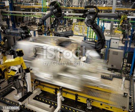 155373435 istock photo Robotic Arm 114439696