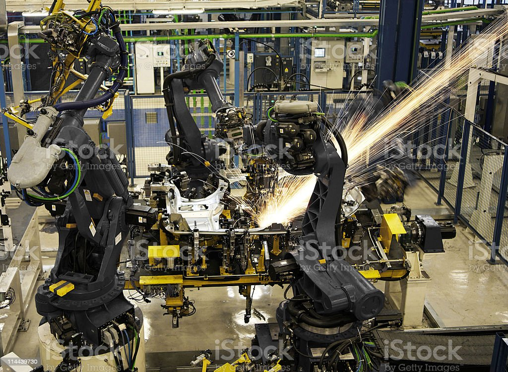 Robotic Arm royalty-free stock photo