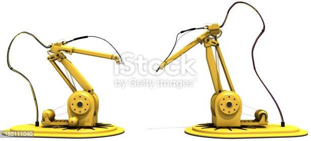 182463664 istock photo Robotic Arm 152111040