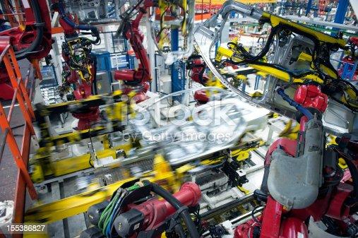 155373435 istock photo Robotic Arm 155386827