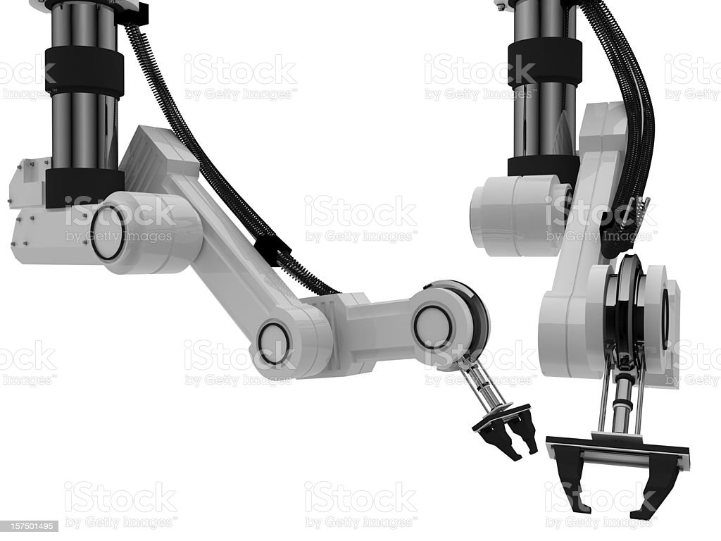 Robotic Arm - Royalty-free Automated Stock Photo