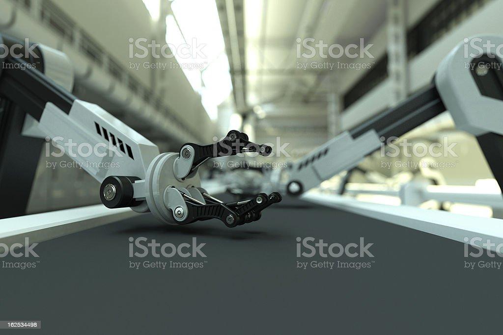 Industrieroboter-arm – Foto