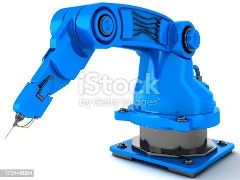 istock Robotic Arm 172448084