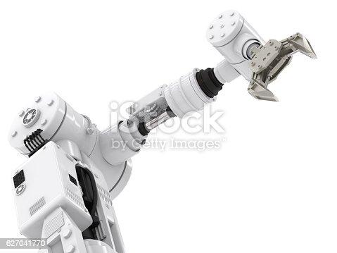 istock robotic arm 627041770