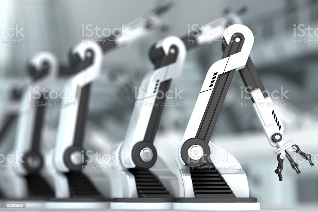 Robotic Arms stock photo