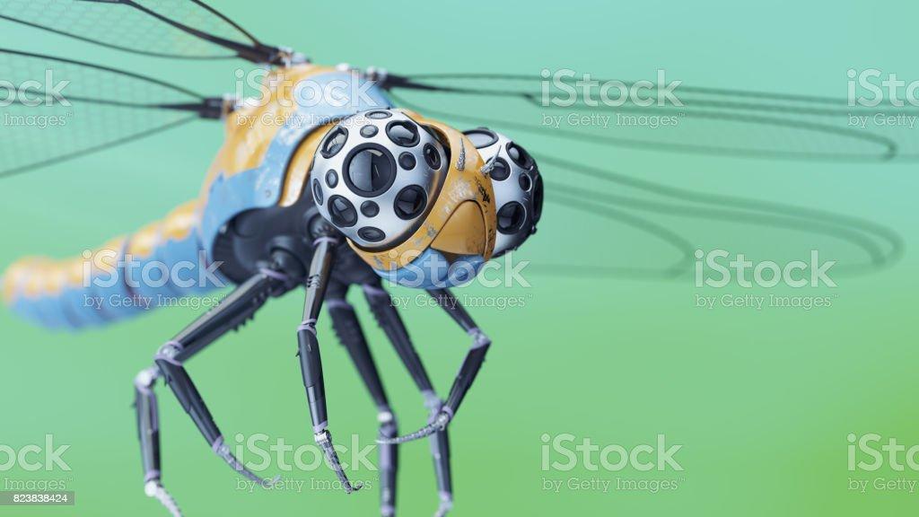 Robotic dragonfly foto