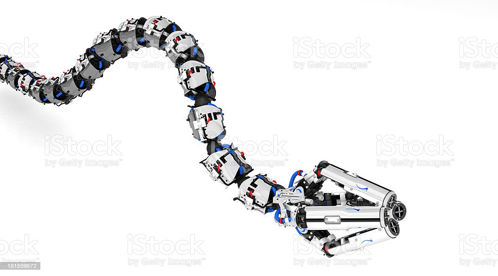 Robotic Tentacle Arm stock photo