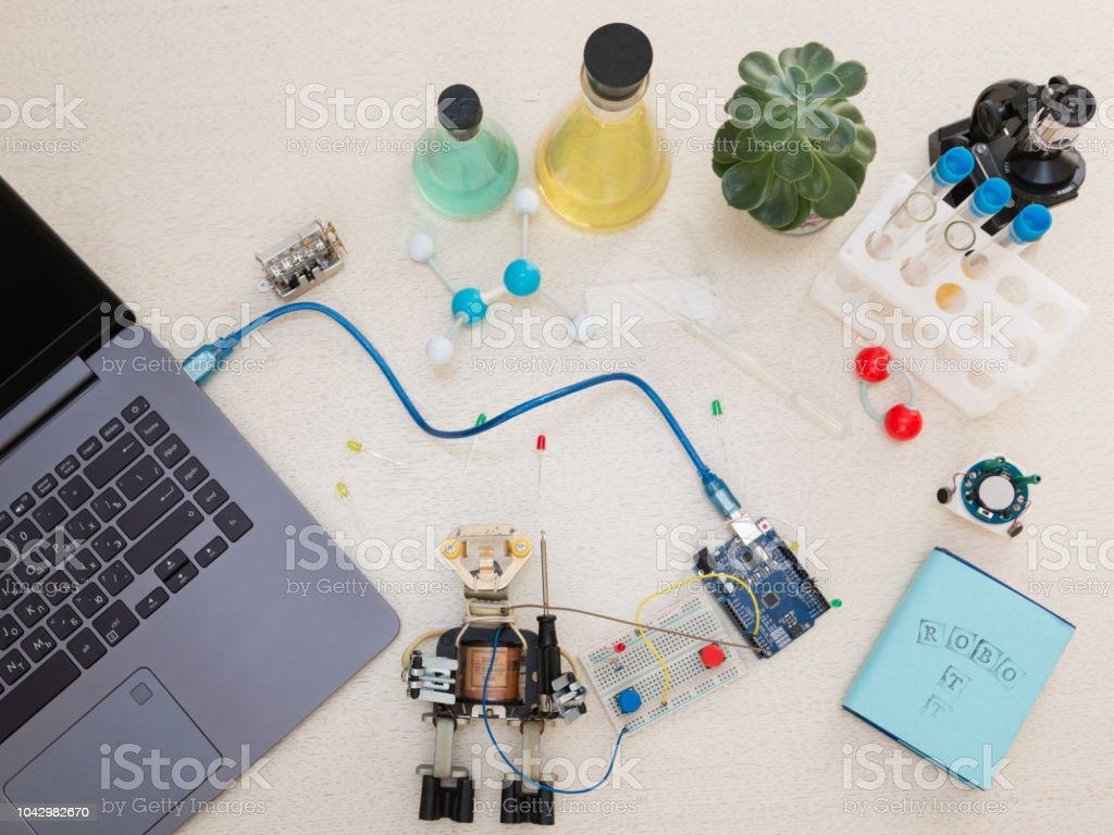 Robotics stock photo